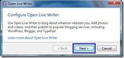 Open Live Writer_установка_1