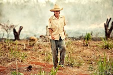 Farmer from Alacranes, Cuba on his ranch(finca).