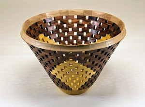 "Photo: Bob Grudberg 8"" x 6"" bowl [walnut and more]"