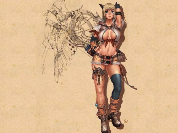 Anime Fighter Girl, Warriors