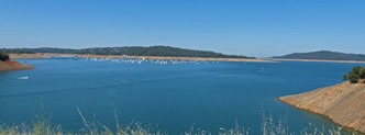 Lake Oroville, July 7, 2013