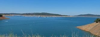 Lake Oroville, July 7, 2013