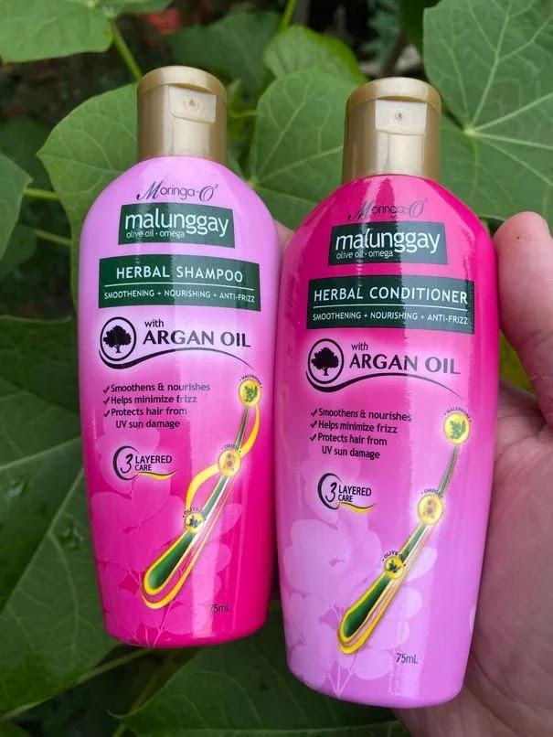 Moringa-O2 Herbal Anti-Frizz Shampoo and Conditioner