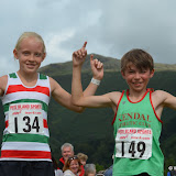 Grasmere U12 fell race