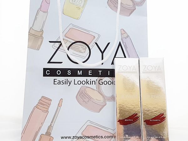 [Review] ZOYA Cosmetics New Limited Lip Paint – Metallic Series: Beatrix dan Elizabeth