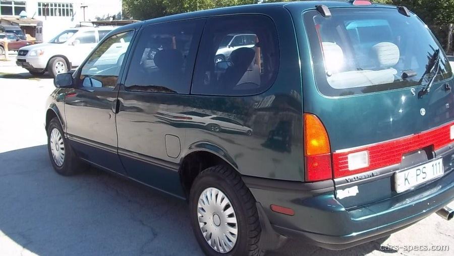 1993 Mercury Villager Gs Penger Minivan 3 0l V6 4 Sd Automatic