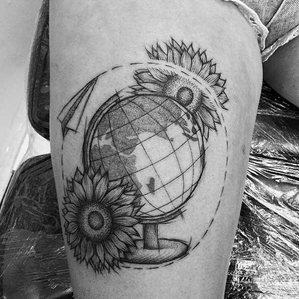 o_floral_globe_composiço