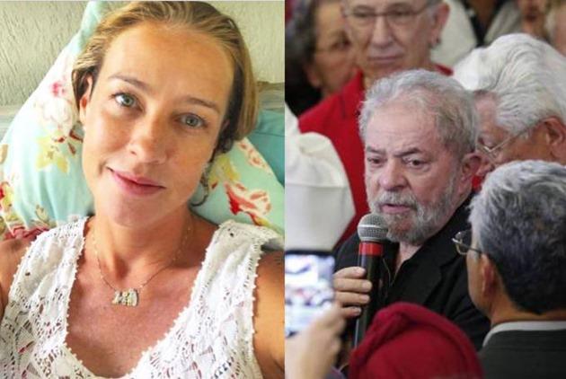 Luana Piovani critica Lula após morte de Marisa Letícia