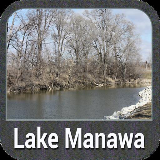 Lake Manawa - IOWA GPS Map