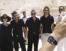 براد بيت وأنجيلينا جولي في  مصر