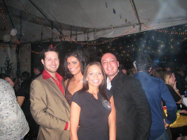 Adamda And Adam With Israel Sanchez, Afc Adam Lyons