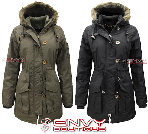 99727 LJK MILITARY CANVAS FAUX FUR HOODED JACKET MAIN.jpg