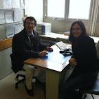 Filipe Basto (Medico Professor da Universidade do Porto - Portugal) e Dra. Tania Guerreiro - Fev 2013