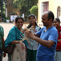 Hands on Science workshop conducted by Manish Jain