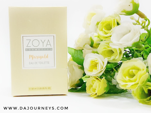 [Review] Eau De Toilette Marigold from Zoya Cosmetics