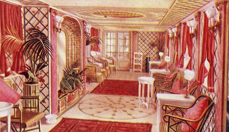 12-Otra vista del hermoso salón de música. Revista La Vida Marítima. Año 1914. REINA VICTORIA EUGENIA.jpg