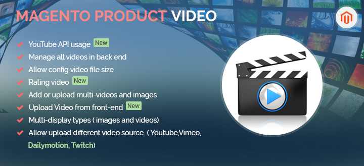 product video magento