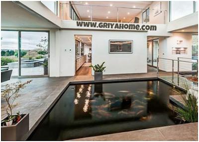 Interior Kolam Ikan  Dalam Rumah