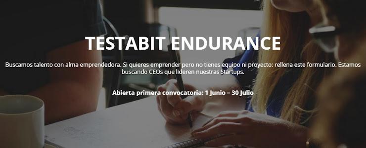 Testabit Endurance busca emprendedores para liderar Startups