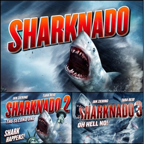 Sharknado 1-3 (2013,2014,2015) Film Reviews  Produced by