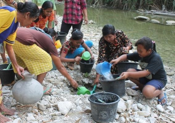Keketringan di Ngawi: 3 Kecamatan rawan Krisis Air Bersih