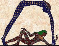 Nut Egyptian Goddess Of The Stars Image