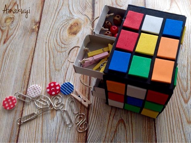 Empaquetado-caja-cerillas-cubo-de-rubik