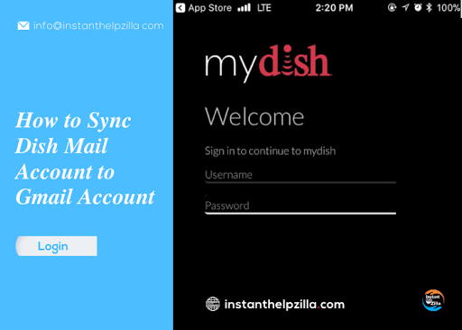 How to Sync Dish Mail Account to Gmail Account