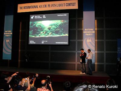 Apartir do Silver Prize, os Aquapaisagistas comentam seus layouts, aqui Cliff Hui (CAU Aqua) comenta seu Aquário, segundo ele a mudança de seu estilo foi fundamental para suas melhores resultados.