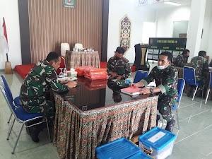 Tim Wasrik Itdam VI/Mulawarman Kunjungi Kodim 0913/PPU