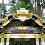 toshogu shrine in Nikko, Japan in Nikko, Totigi (Tochigi) , Japan