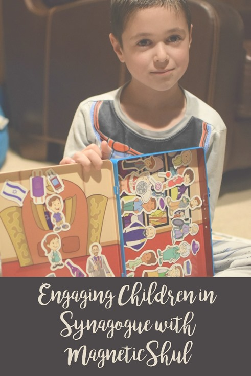 Engaging Children In Synagogue With MagneticShul