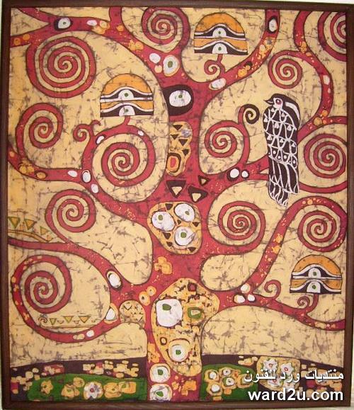تصميمات افريقية وفرعونية طباعة باتيك