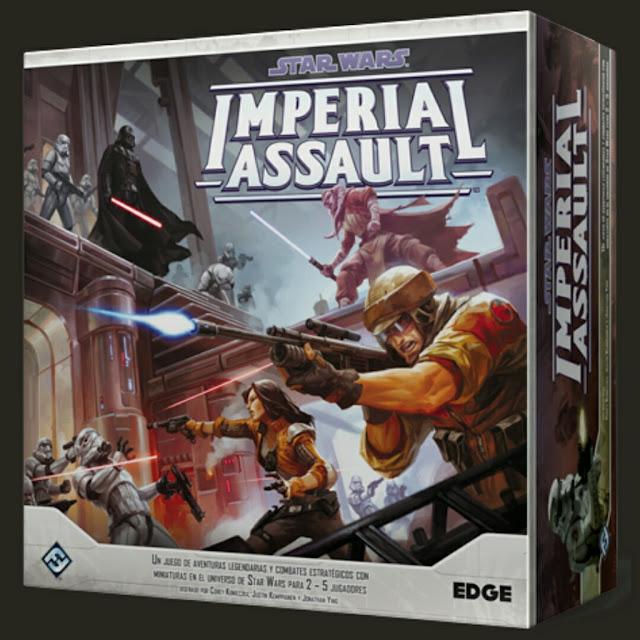 caja Imperial Assault y sus expansiones