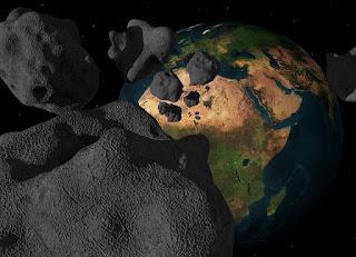 Asteroid sedang menuju bumi