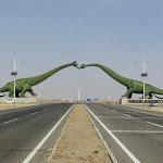 Na putu za Mongoliju, Kina
