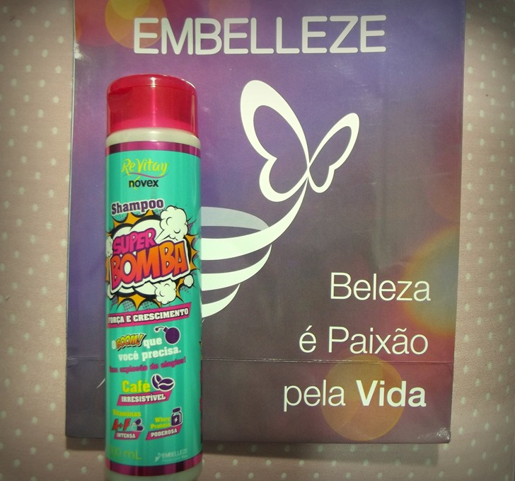 pre - encontro - feira - rio belleza - embelleze - press kit - brinde - reebidos - super bomba - shampoo - revitay - novex - carol - brito -beauty secrets