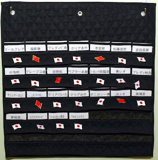 Language badge hanger