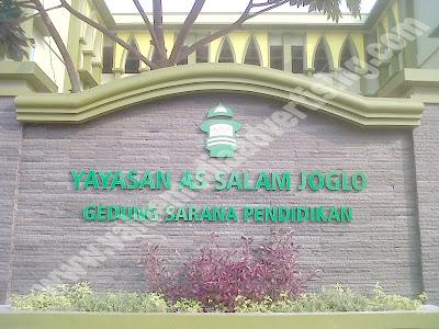 Huruf Timbul Yayasan As Salam Joglo