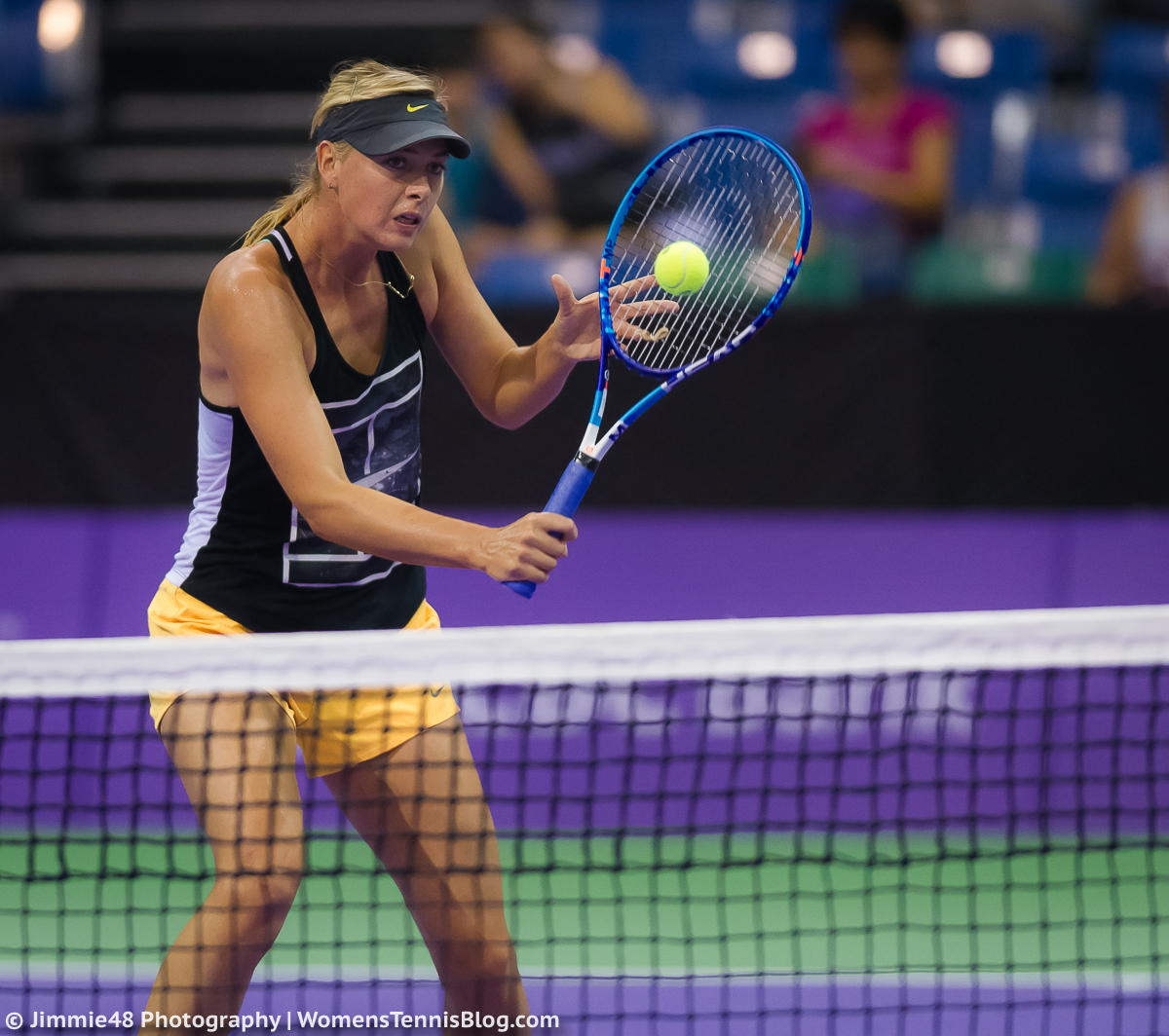 Wta: Singapore Warms Up For WTA Finals – Gallery