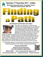 Finding a Path 11 November 2017