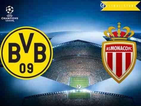 Borussia Dortmund vs Monaco Champions League Match Highlight