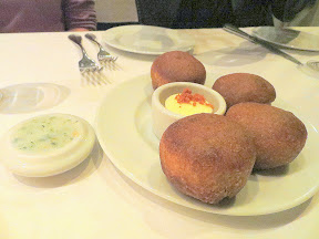 Castagna Snax: Bread service with house-made butter and lardo from Castagna Restaurant