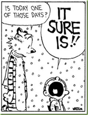 one of those days calvin