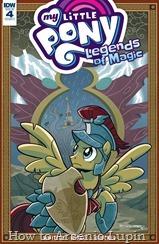 Actualización 28/08/2017: Gracias a JARZ, Wushi y Tlato de Equestrianet, les presentamos el numero 4 de Legends of Magic, el cual cuenta la historia de Flash Magnus después de ahuyentar a los dragones.