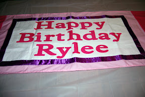 Rylee's 4th birthday party