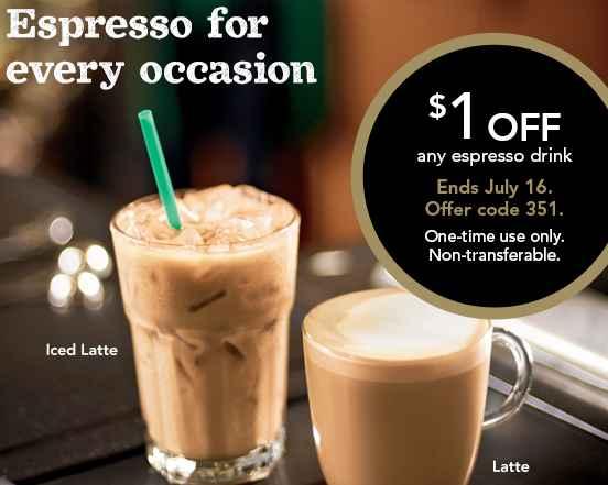 Starbucks coupon 2