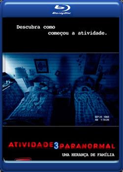 Filme Poster Atividade Paranormal 3 BDRip XviD Dual Audio e RMVB Dublado