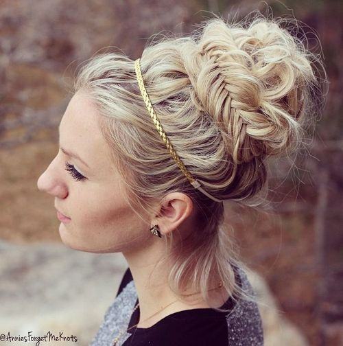 The Trendy Bun Hairstyles For Casual And Formal In Current Year 2017 18
