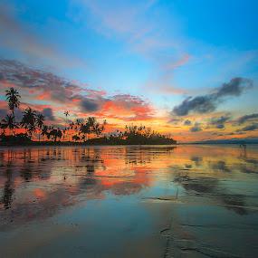 Unknown beach, Sarawak, Malaysia by Jali Razali - Landscapes Sunsets & Sunrises (  )